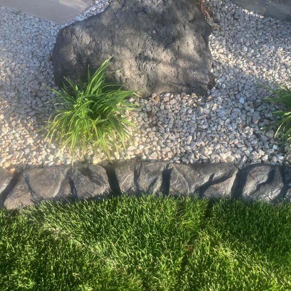 Virgin River Cement Curbing
